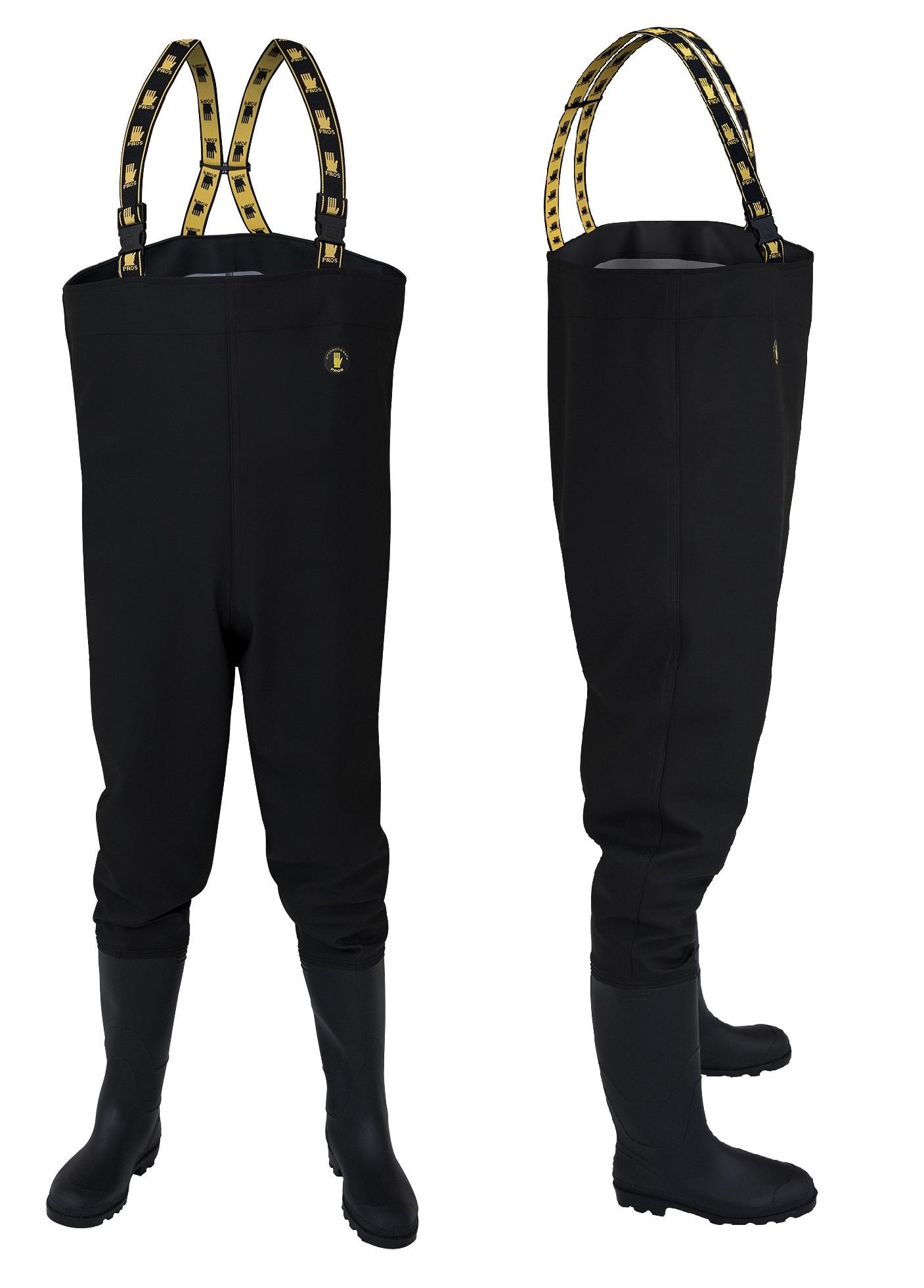 Topánky Marsh Rybolovu Čierne KLADY veľkosť.44