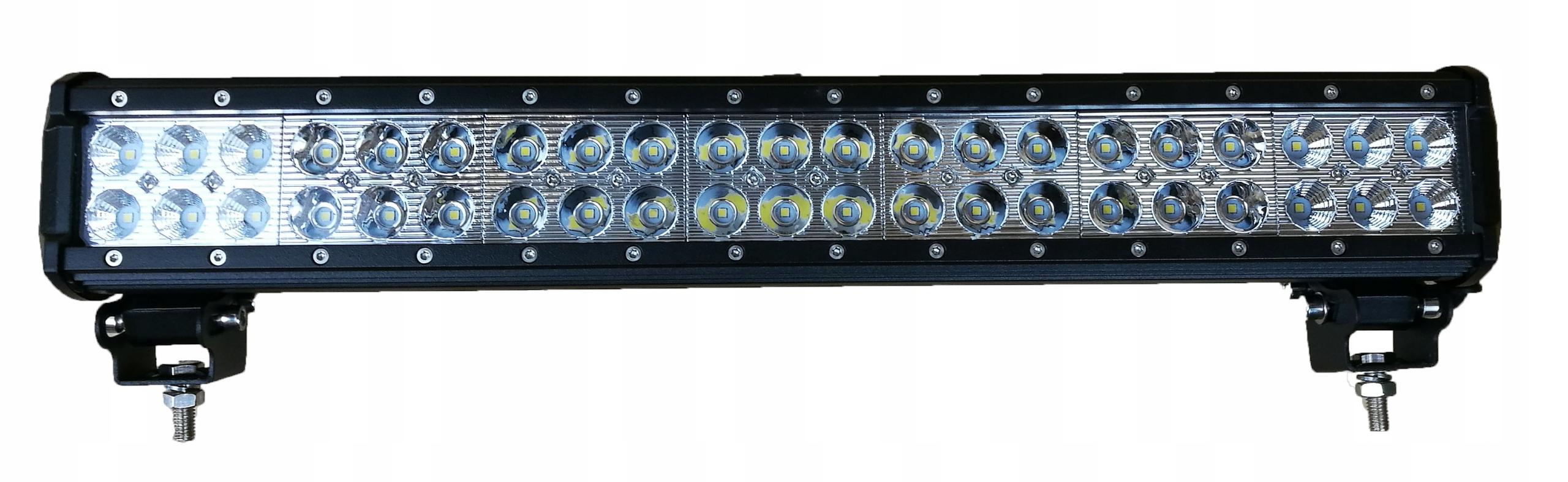 панель led галоген дальнего света планка 126w20' 50cm