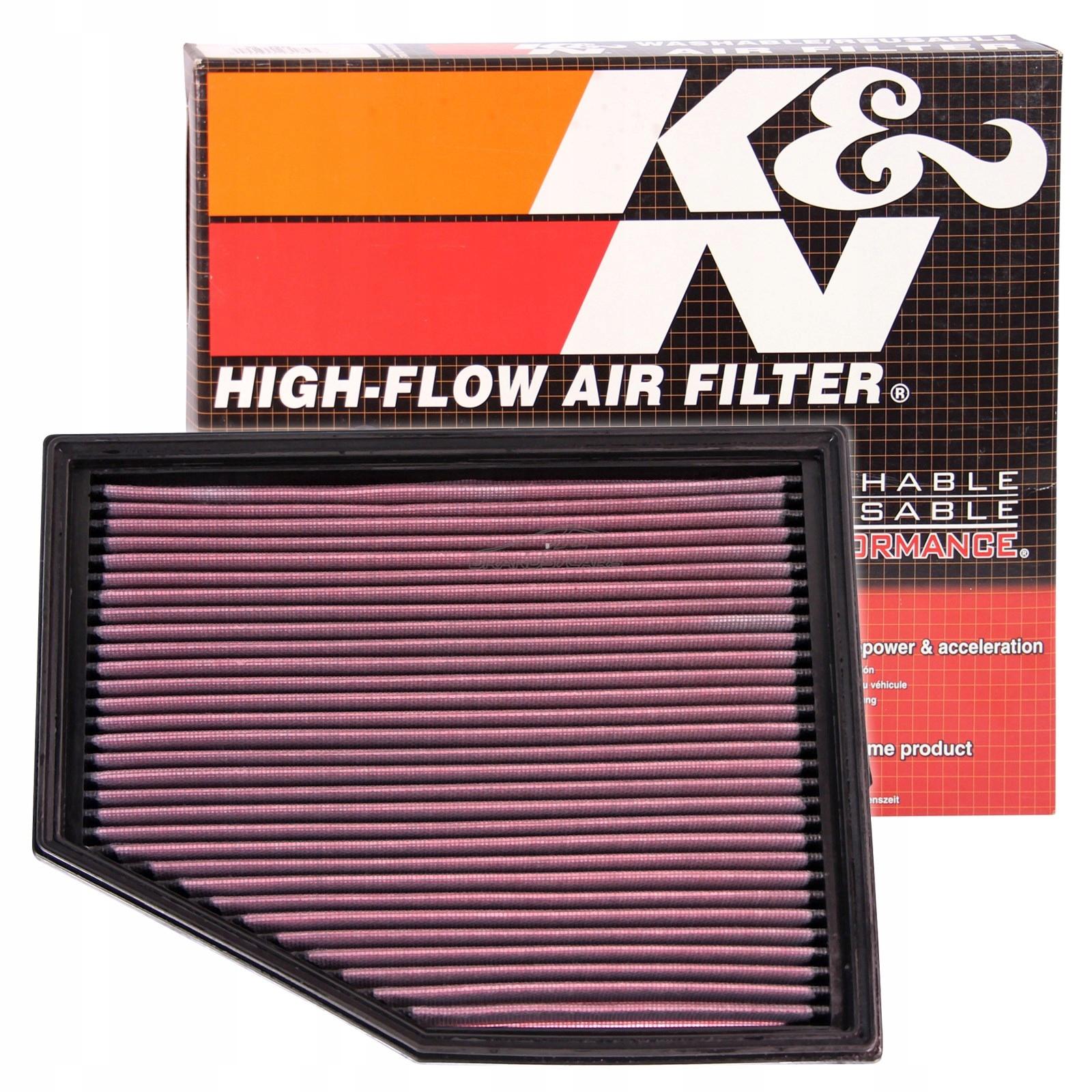 спорт фильтр воздуха k 33-2292 bmw e60 e61