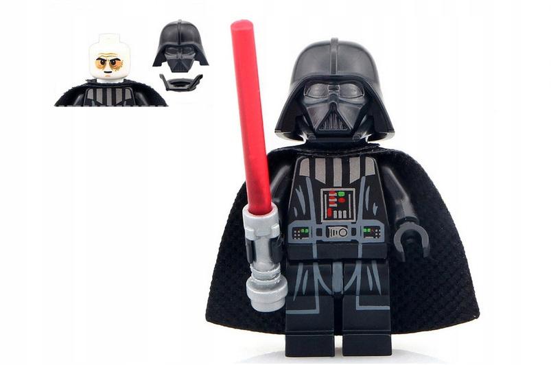 NOWY DARTH KLOCKI STAR WARS + KARTA LEGO