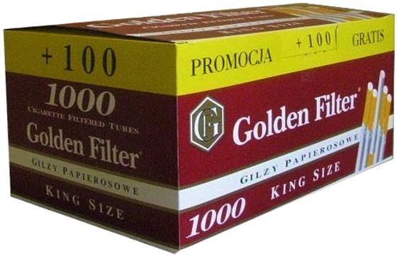 Гильзи GOLDEN FILTER 1000+100=1100szt.