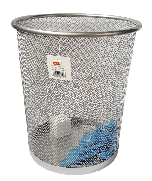 Item BASKET OFFICE NET - L5002, silver 12L