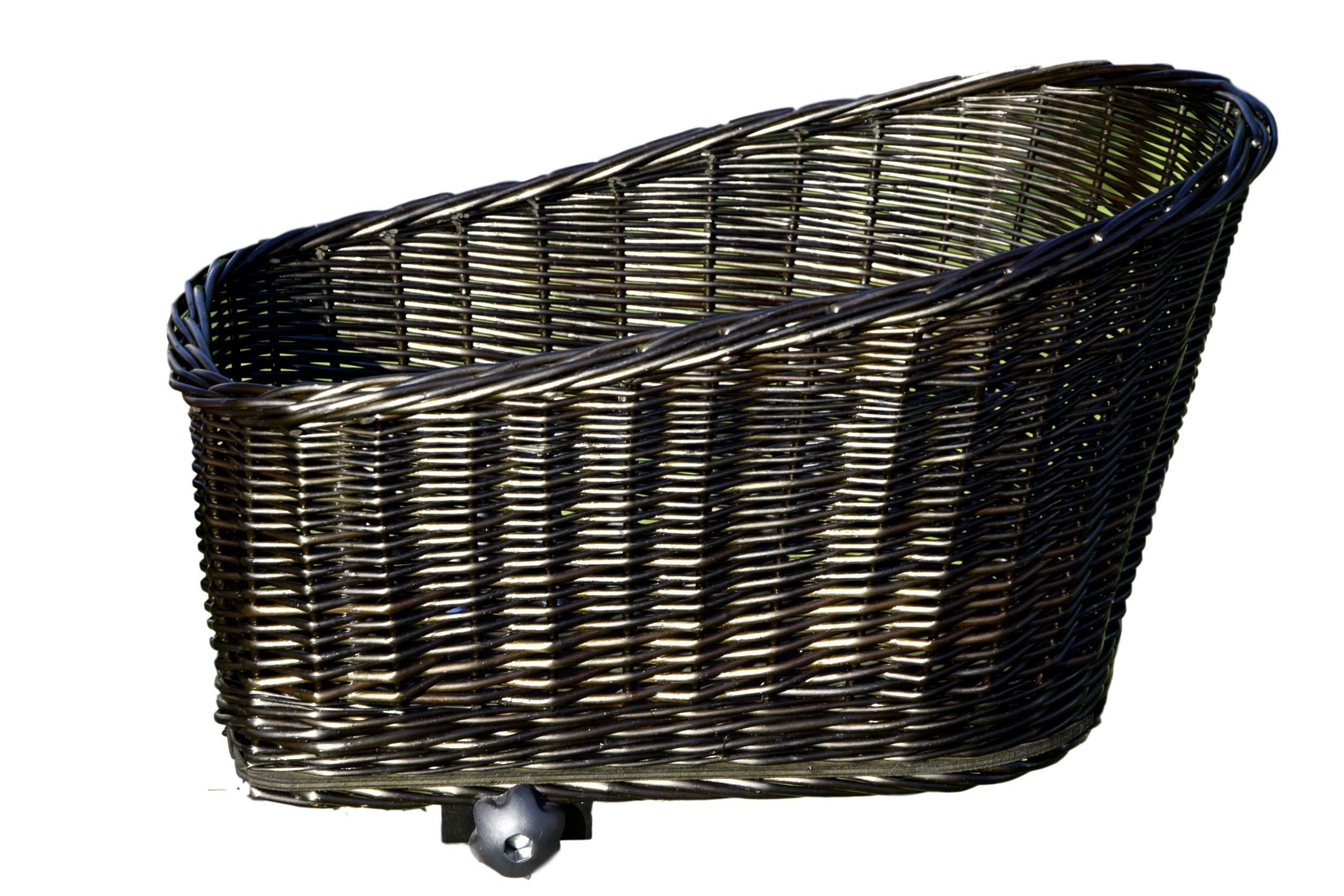 KOŠÍK PRÚTENÝ Košík na BICYKEL batožinového priestoru nákup XL
