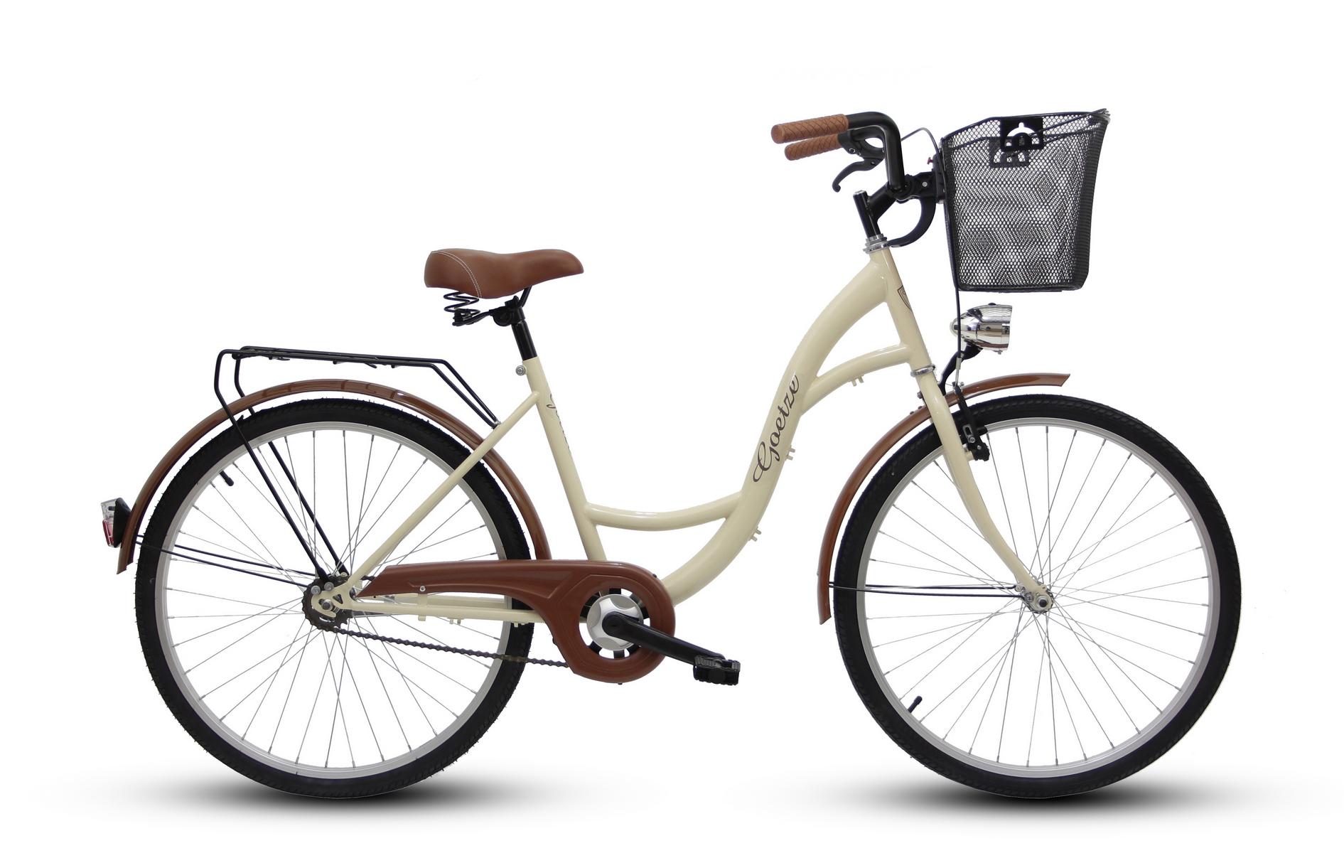Dámsky mestský bicykel GOETZE 26 eco lady + košík !!!  Značka Goetze