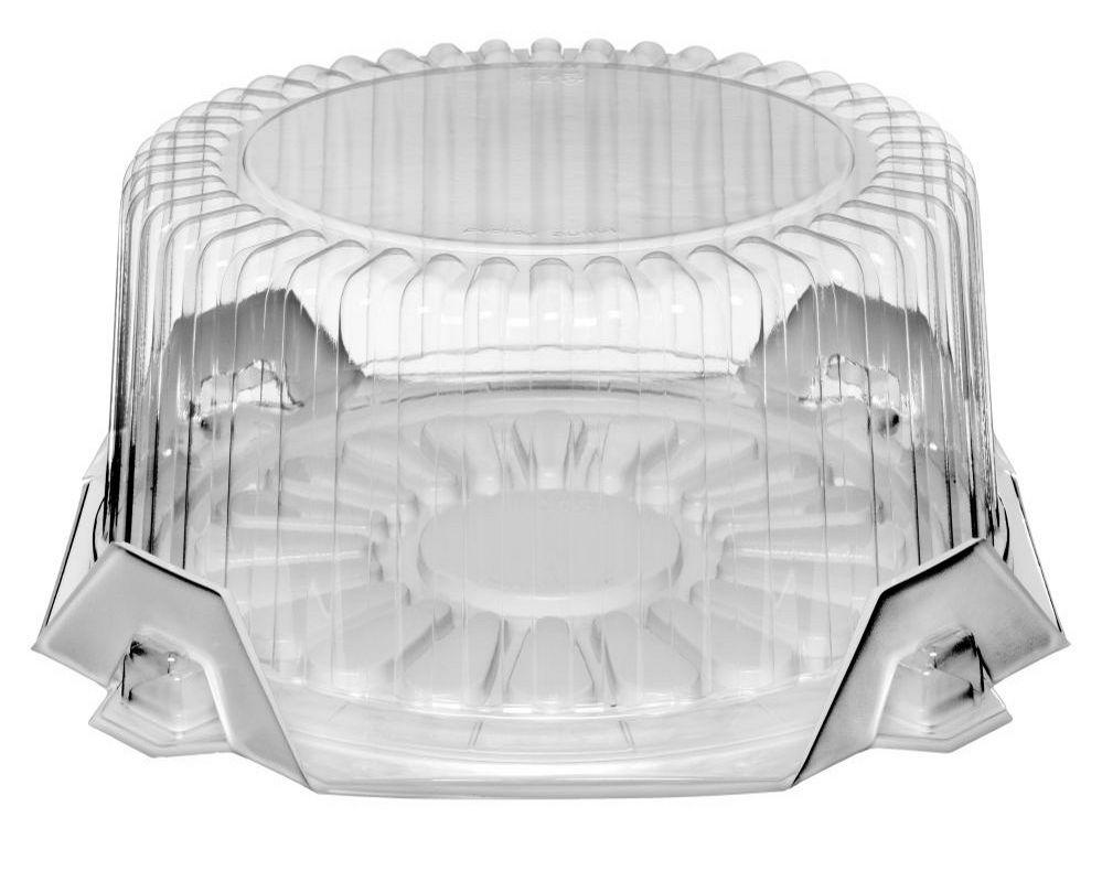 КОНТЕЙНЕР для торта КРУГЛЫЙ SL212 коробка М 5 штук