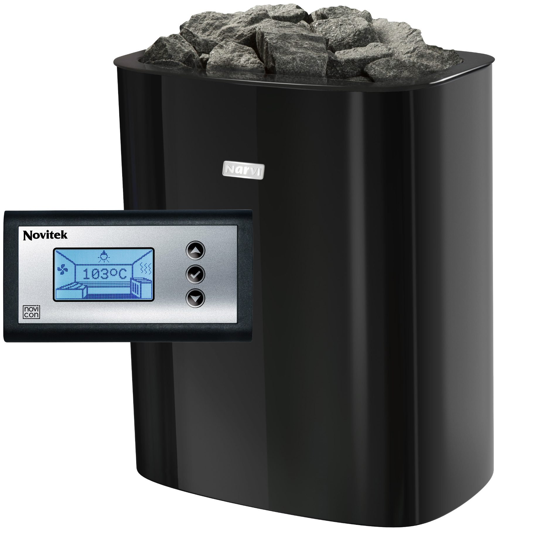 Sauna pečená pre saunu NIVI NC 6 kW C s ovládaním