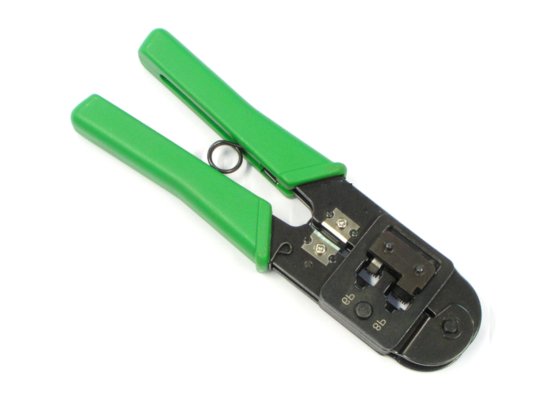 Krimpovací nástroj pre modulárne zástrčky 6p RJ11 8p8c RJ45