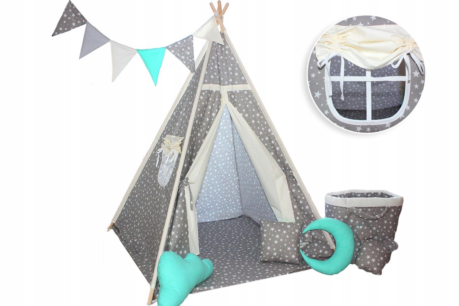 Namiot dla dzieci TIPI WIGWAM 6 DODATKÓW + GRATIS