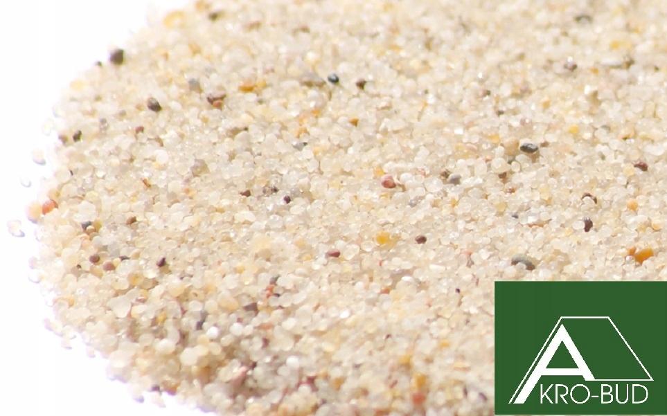 Sandy Sand Brúsenie 25 kg Atest 0.4 ~ 1.0