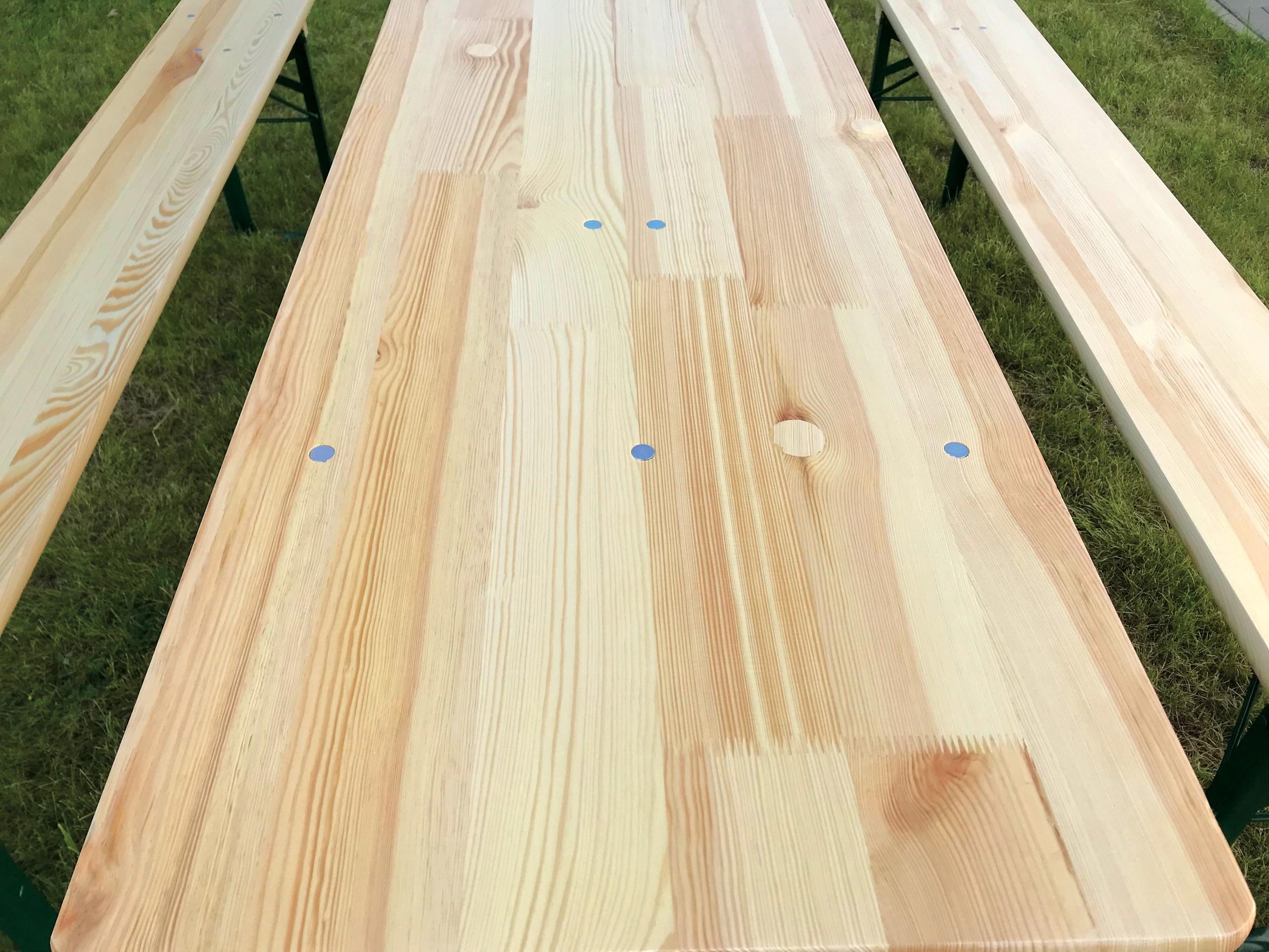 banketová sada pivná sada 80 cm stôl + 2 lavice Kód produktu banketová sada 220x80