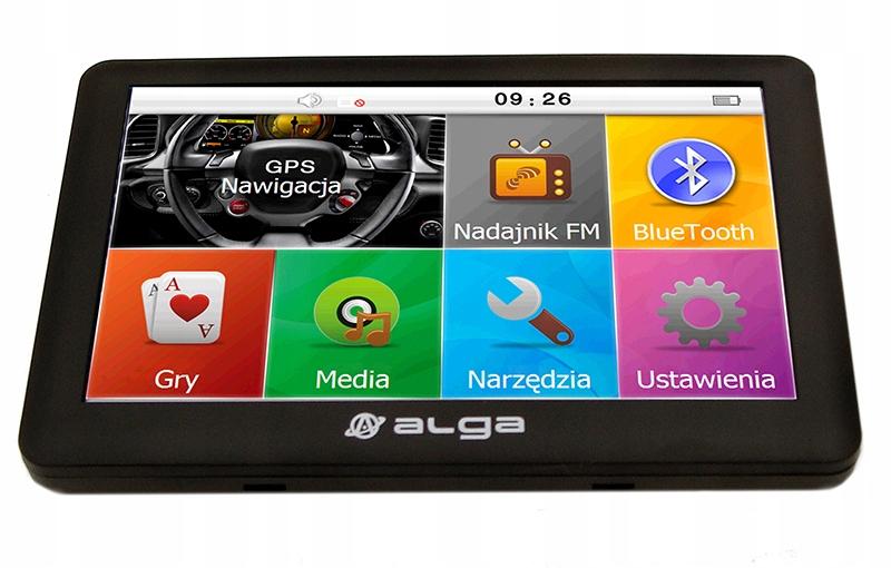 NAWIGACJA ALGA AN50 PRO + AUTOMAPA PL XL 1 ROK Pamięć wewnętrzna 8 GB