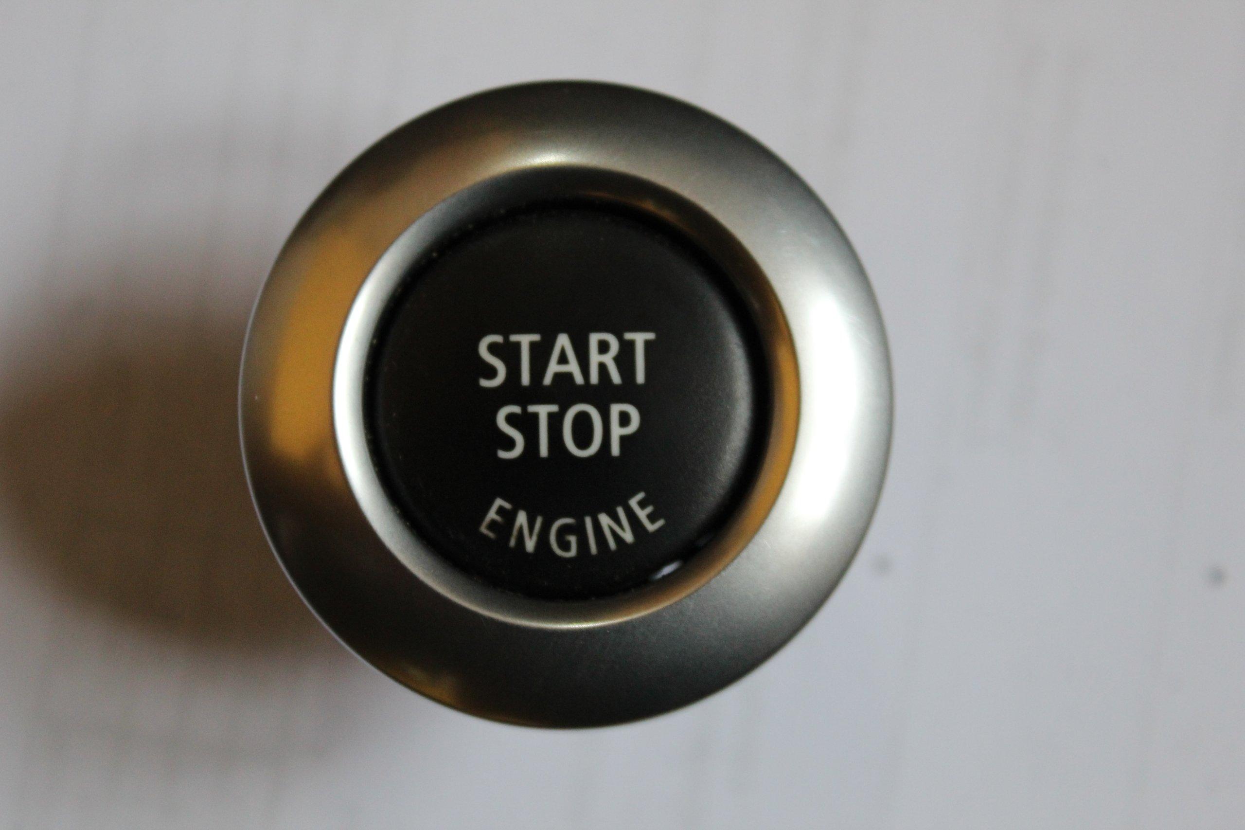 общем, кнопка старт стоп серебристая фото для