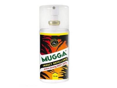 Item STRONG MUGGA DEET 50% 75 ml.
