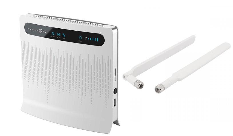 МАРШРУТИЗАТОР Huawei B593 LTE II 4G МОДЕМ 2x АНТЕННЫ