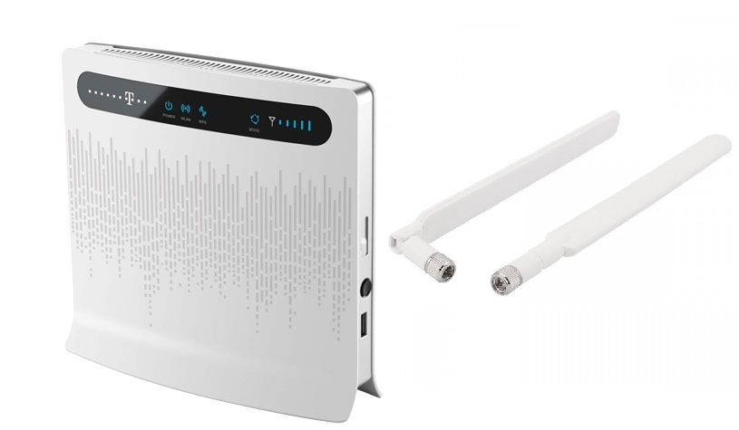 Item ROUTER Huawei B593 LTE 4G MODEM II 2x ANTENNA