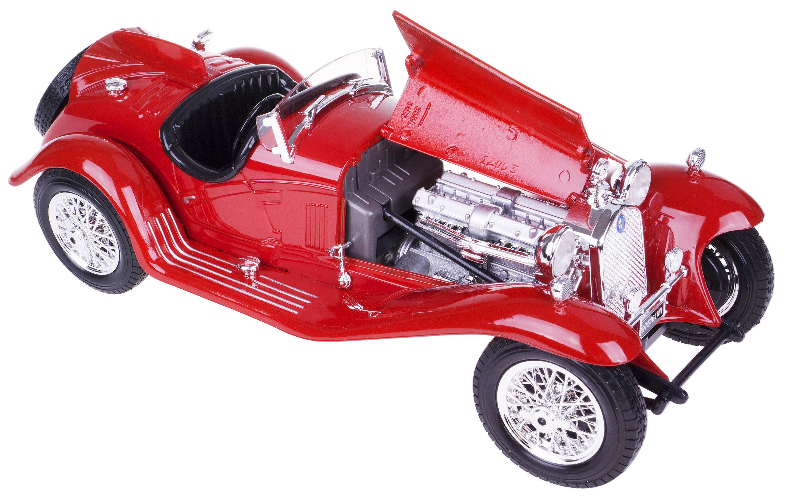 ALFA ROMEO 8C 2300 SPIDER MODEL METAL BBURAGO 1 18