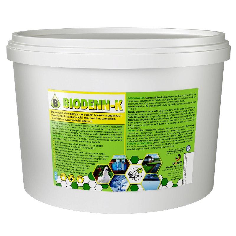 BIODENN-K 4,5 kg BAKTÉRIÍ PRE čistiarne odpadových vôd a žumpy