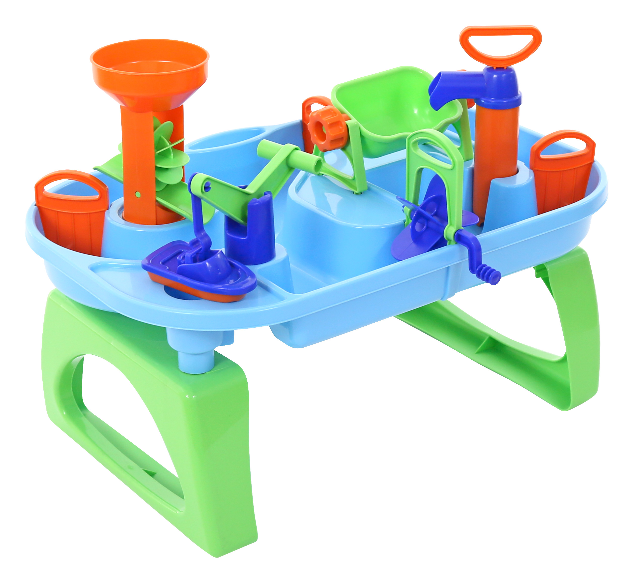 WADER WADER WODNY WORLD - TABUĽKA Sada hračiek do vane