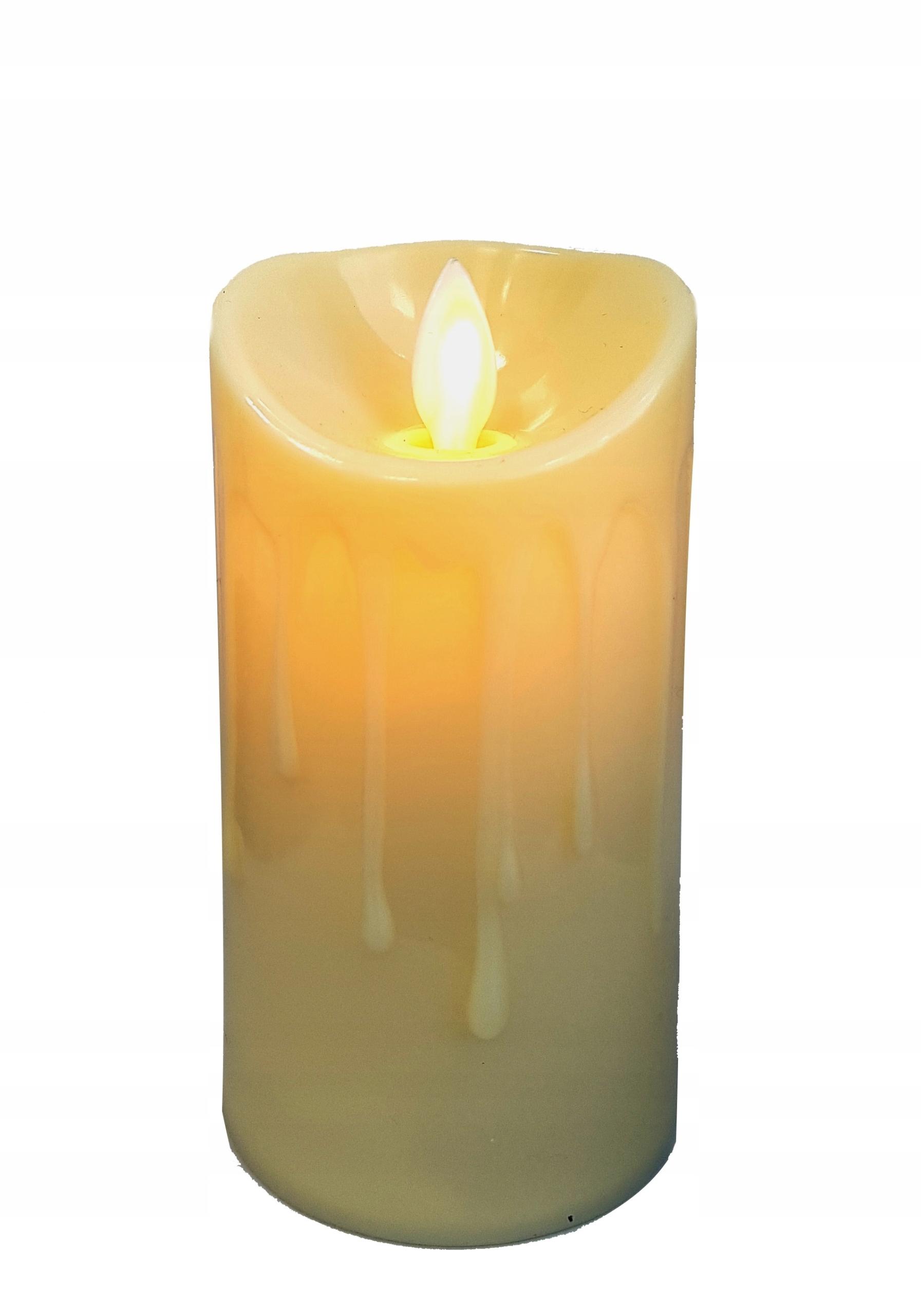 Светодиодная лампа 11см подвижное пламя вавка украшение