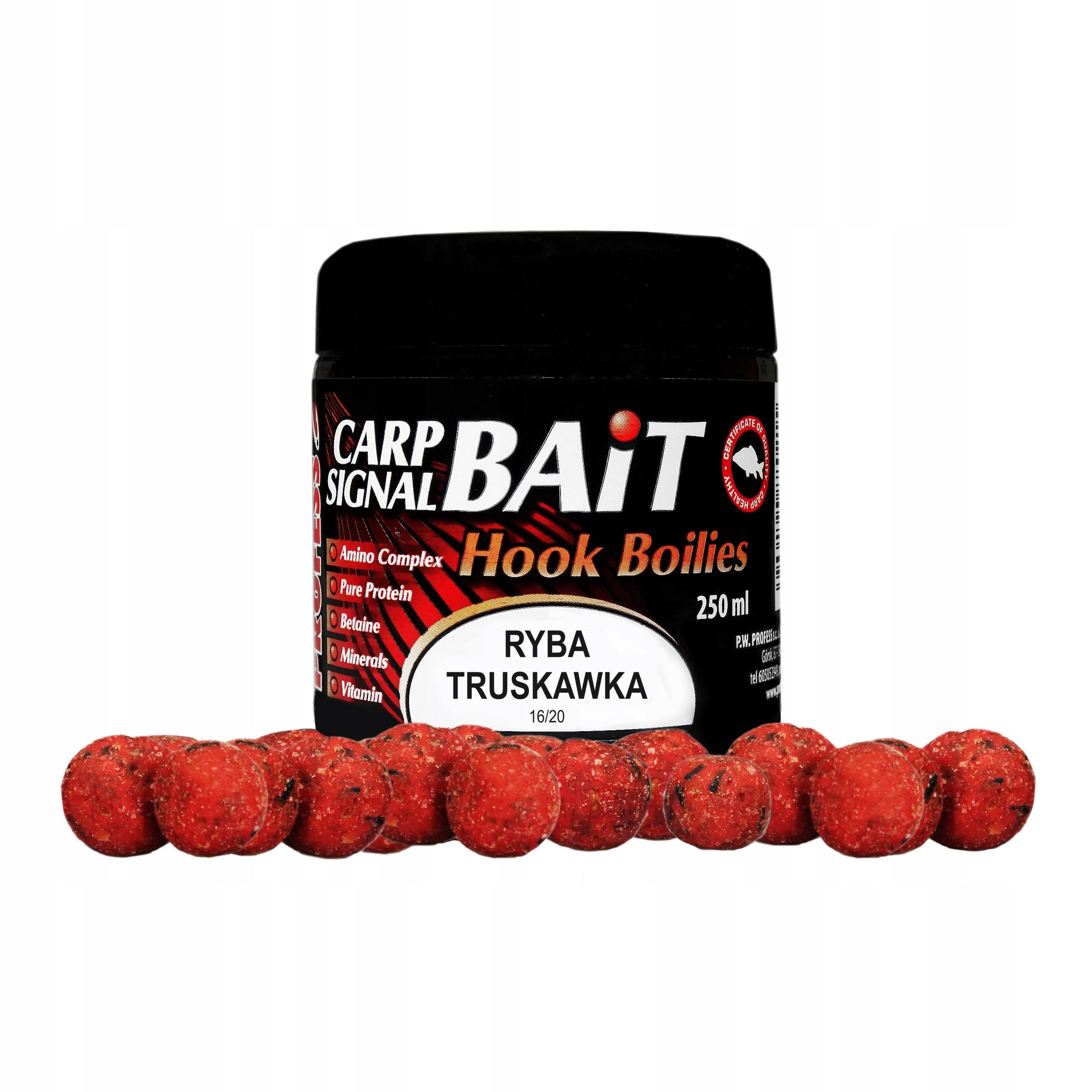 Profesor Protein Balls Strawberry - Ryby - 250ml