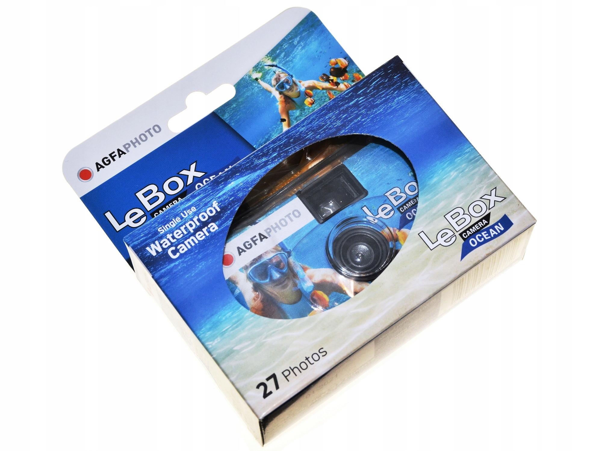 Jednorazový agfa lebox oceán pod vodou 400