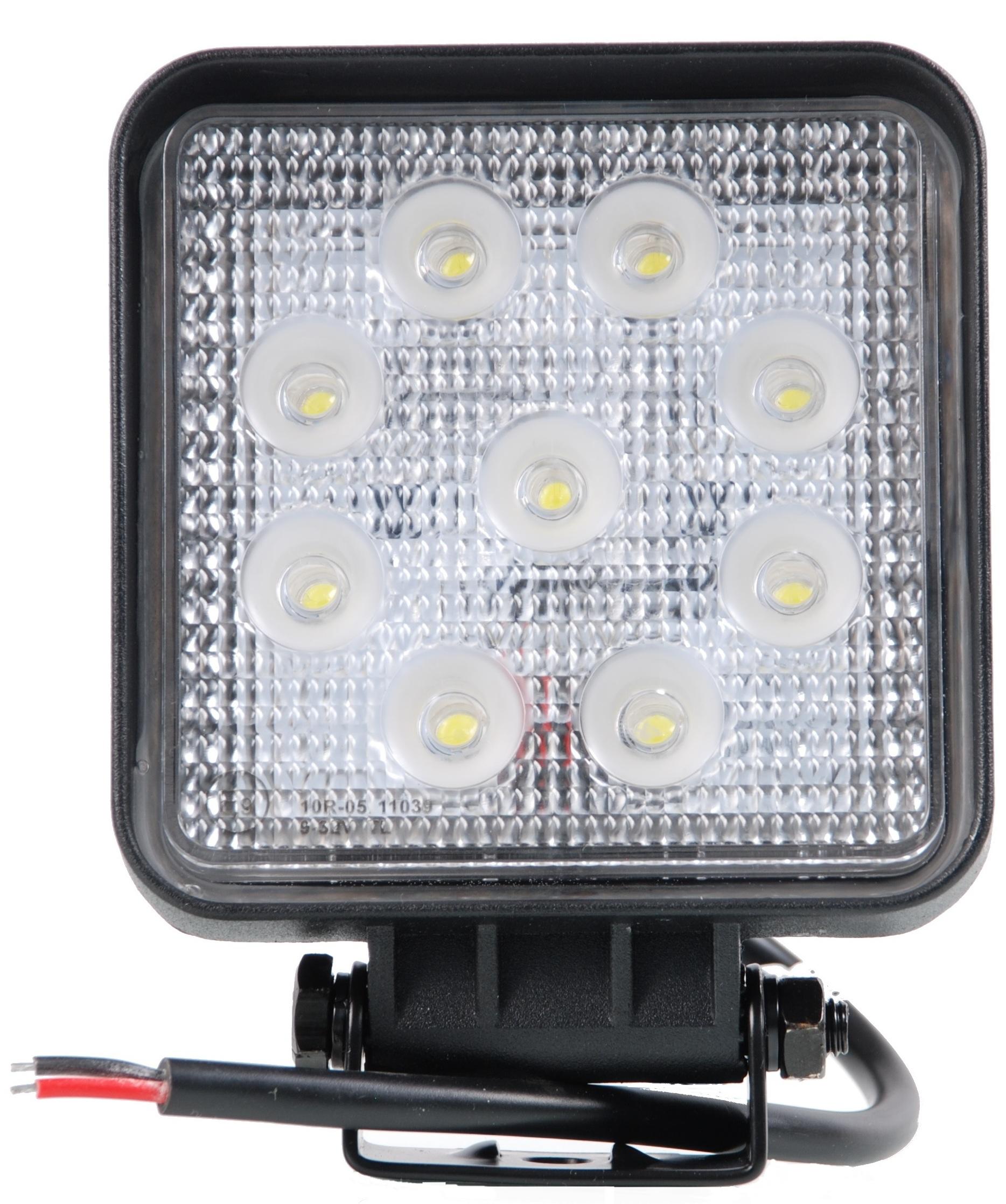 LAMPA ROBOCZA LED HALOGEN 27W HALOGEN SZPERACZ