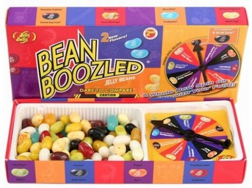 Item Jelly Belly BEAN BOOZLED SPINNER GIFT BOX 3rd EDITION