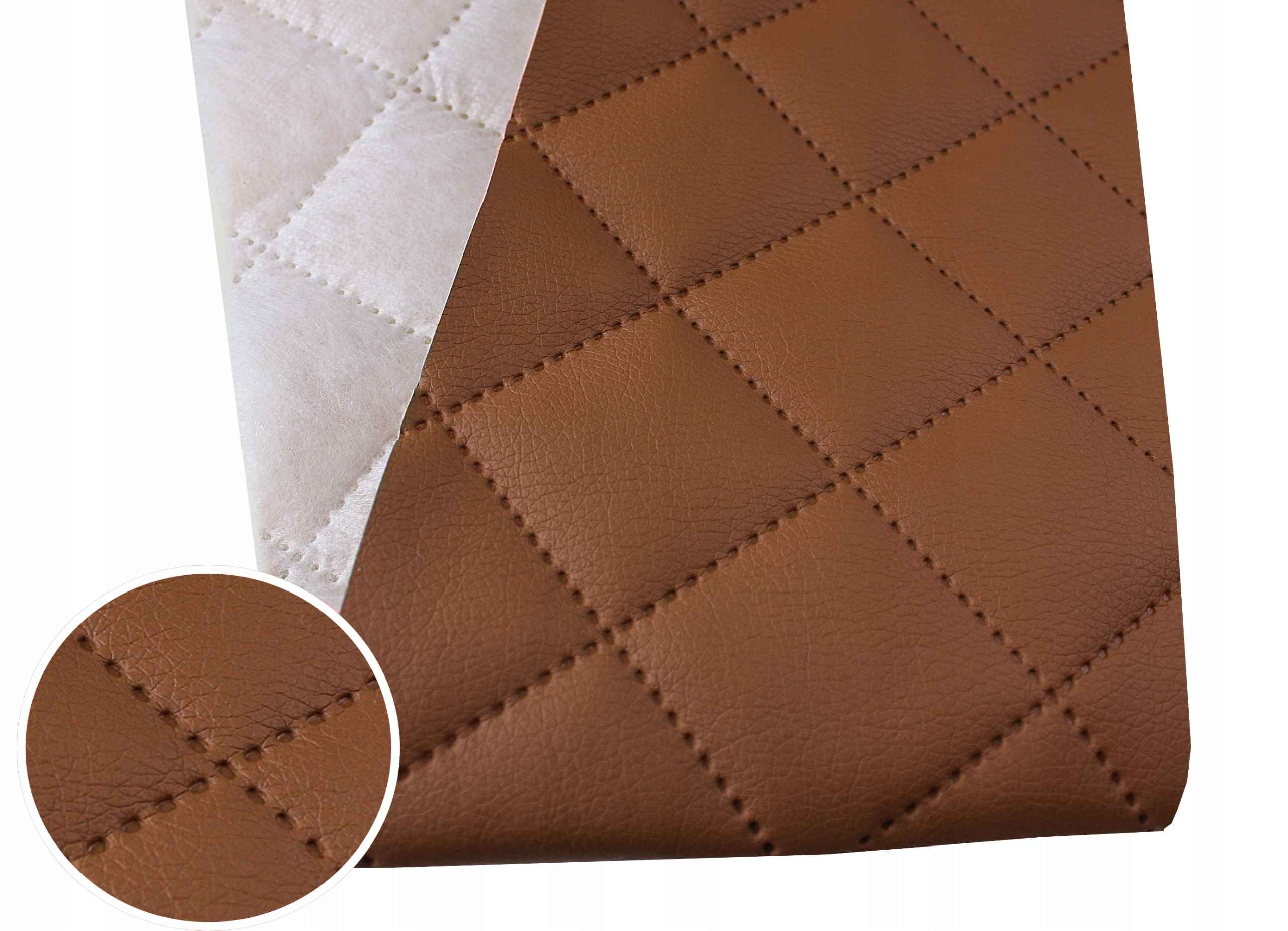 Item ECO LEATHER SKAJ MATERIAL OBICIOWY - QUILTED SOFT
