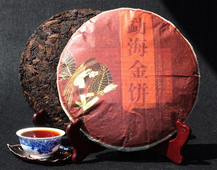 ČAJ Planéty - červená PuErh Shu typ disku 357 gramov.