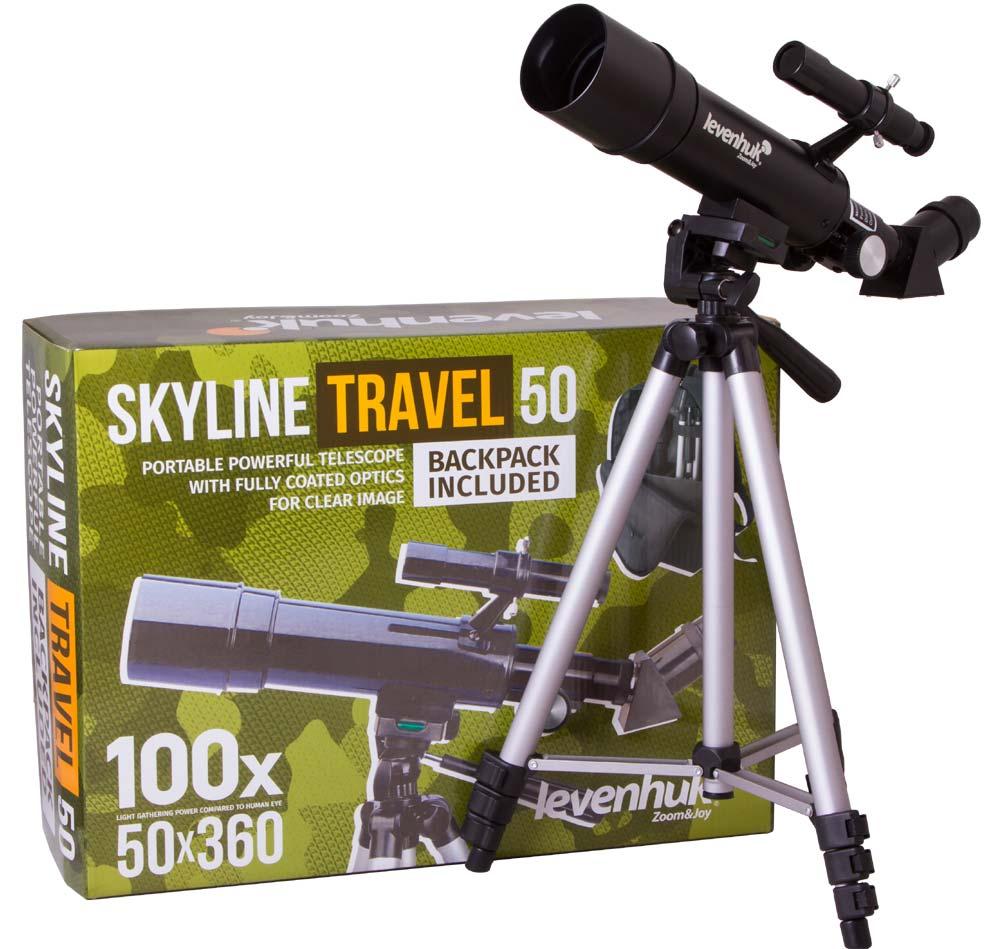Levenhuk Skyline Travel 50 Telescope Refraktor