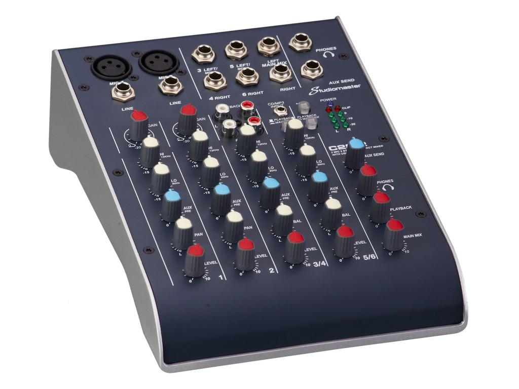 MIXER TEAM DJ StudioMaster C2-2 6 kanálov
