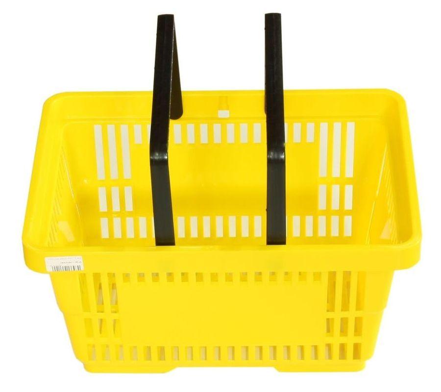 Nákupný košík 2 Rukoväte nakupovanie Baskets pre obchod