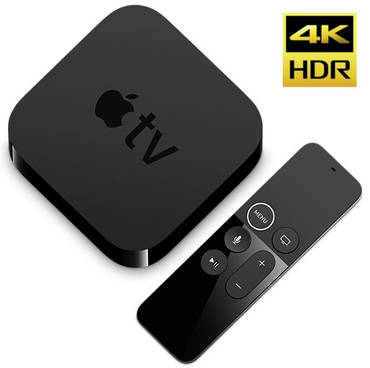 Купить Apple TV 4K 32 ГБ + пульт дистанционного управления (2017), AirPlay, HomeKit на Otpravka - цены и фото - доставка из Польши и стран Европы в Украину.