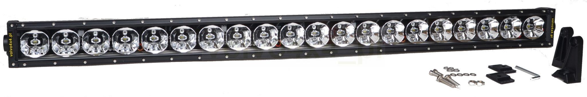панель галоген планка 20x led 200w cree 1224v 4x4
