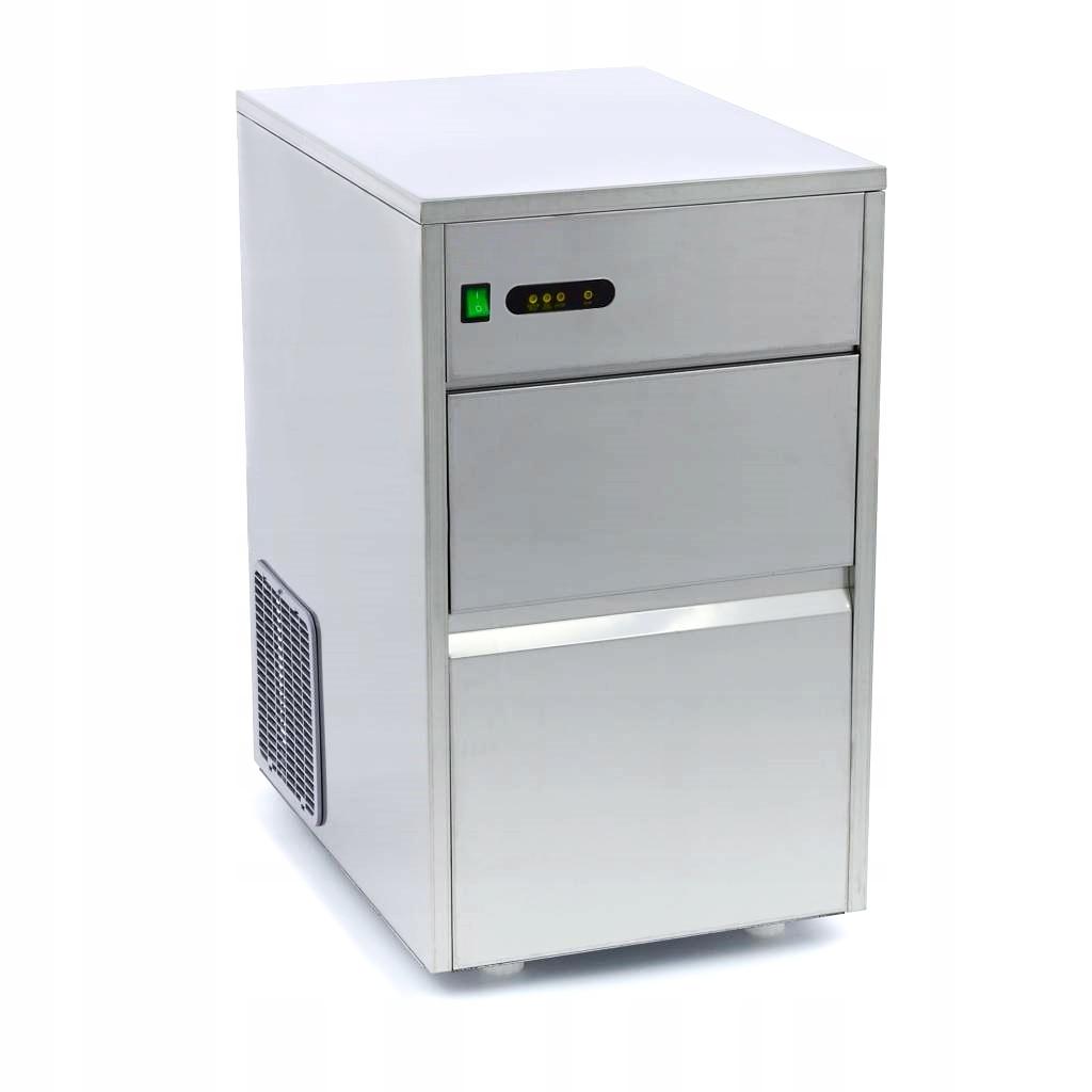 Cuber Ice Machine 50kg / 24h oceľ INOX PUB!
