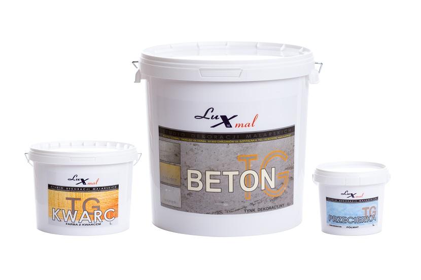 BETON Architektoniczny Tynk Luxmal do 10m2