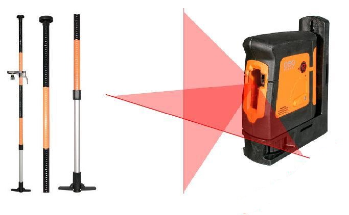 Cross Laser Geo-Fenikel FL 40 HP + 3,4m pól