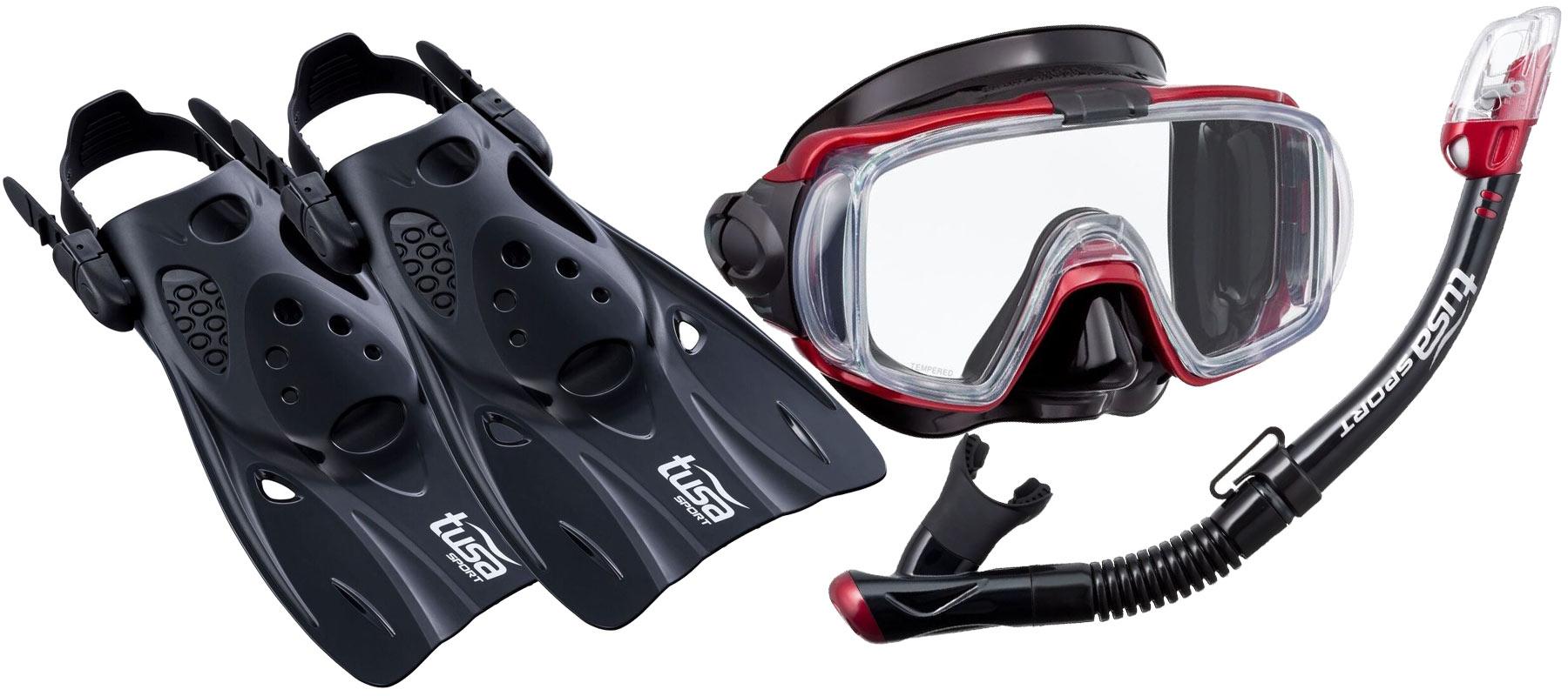 TUSA VISIO NASTAVIŤ maska, plutvy, šnorchel QBMDR L 42-49