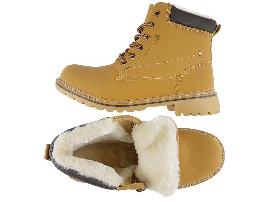 Smiths buty zimowe damskie botki M0056 camel 41