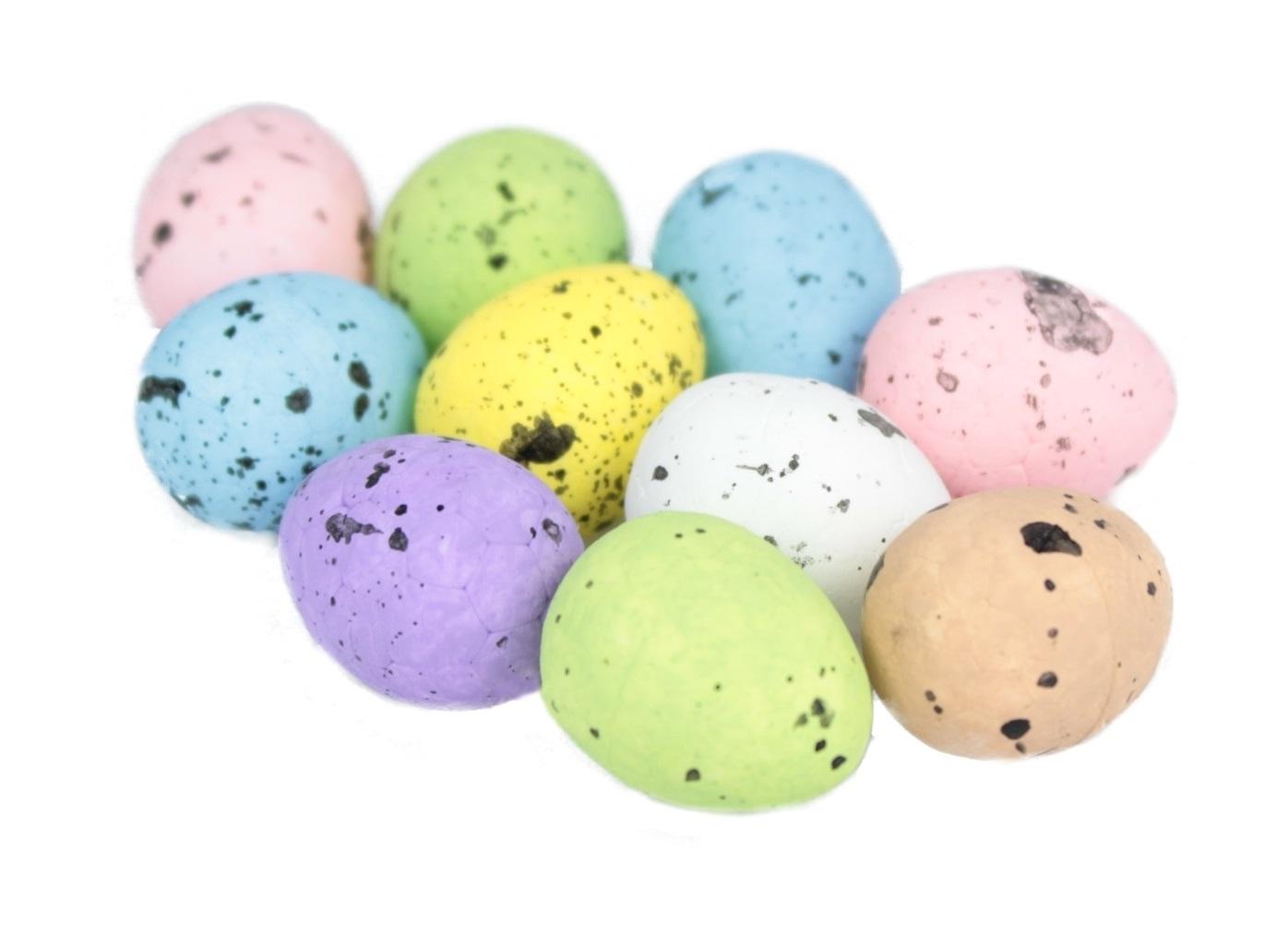 Styrofoamové vajcia Speckled Egg Eggs 10 kusov