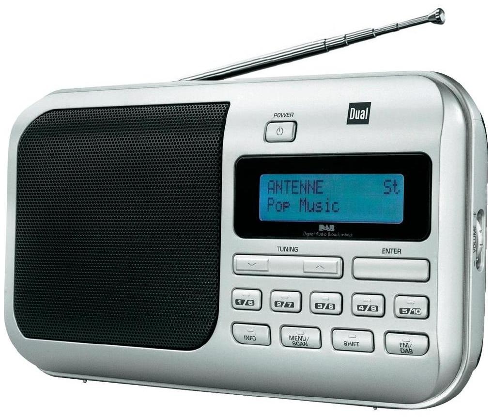 Digitálne rádio DAB / DAB + DUAL DAB 4 FM RDS DUAL
