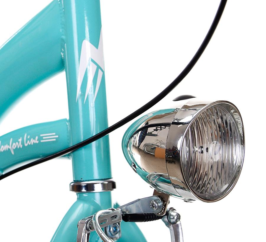 Dámsky mestský bicykel 28 GRACJA 3 prevodové stupne holandské Počet prevodových stupňov 3