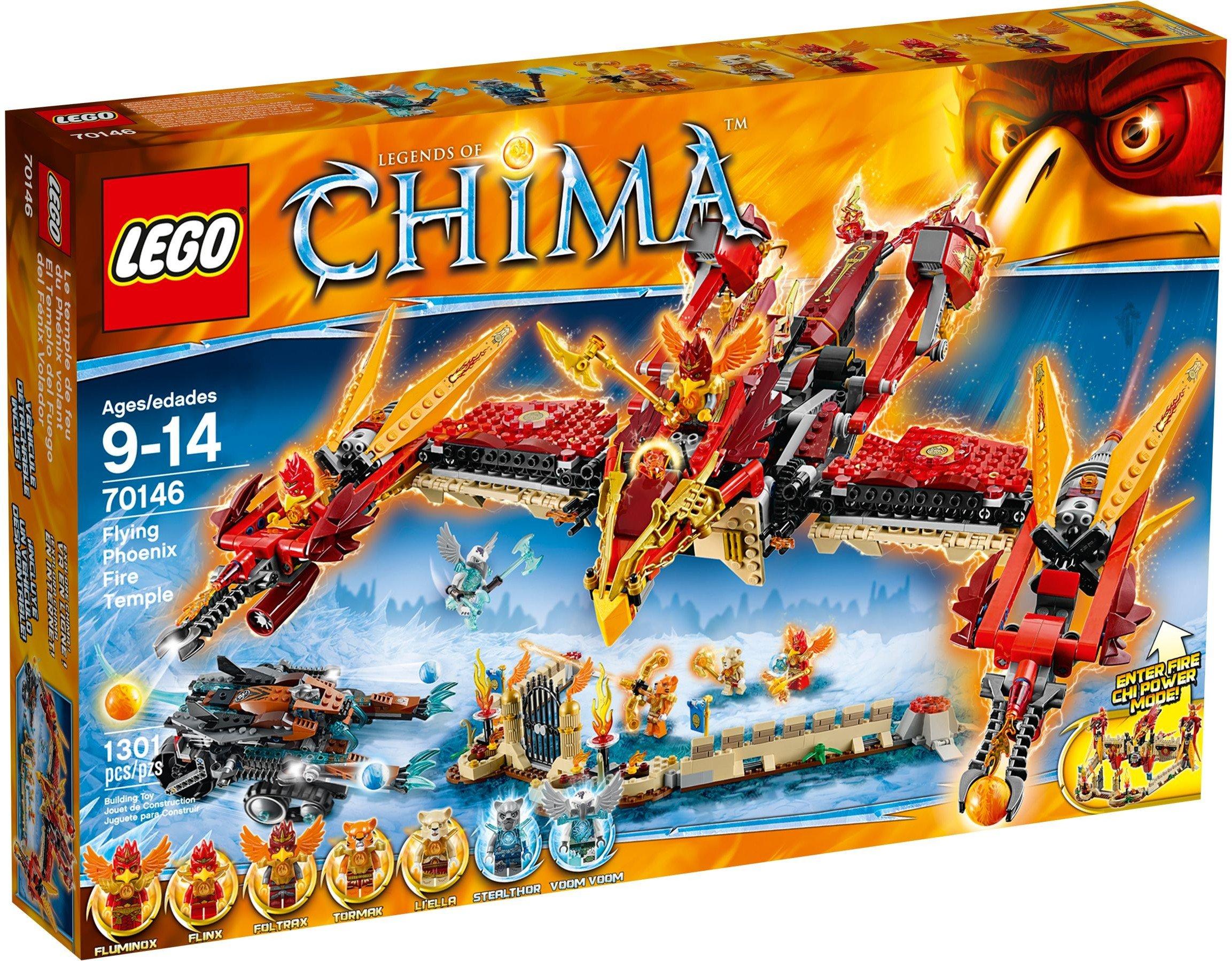 Lego Chima 70146 Fiery chrám Feniksa Sklep24