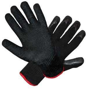 Pracovné rukavice 9 potiahnuté ochrannou gumenom