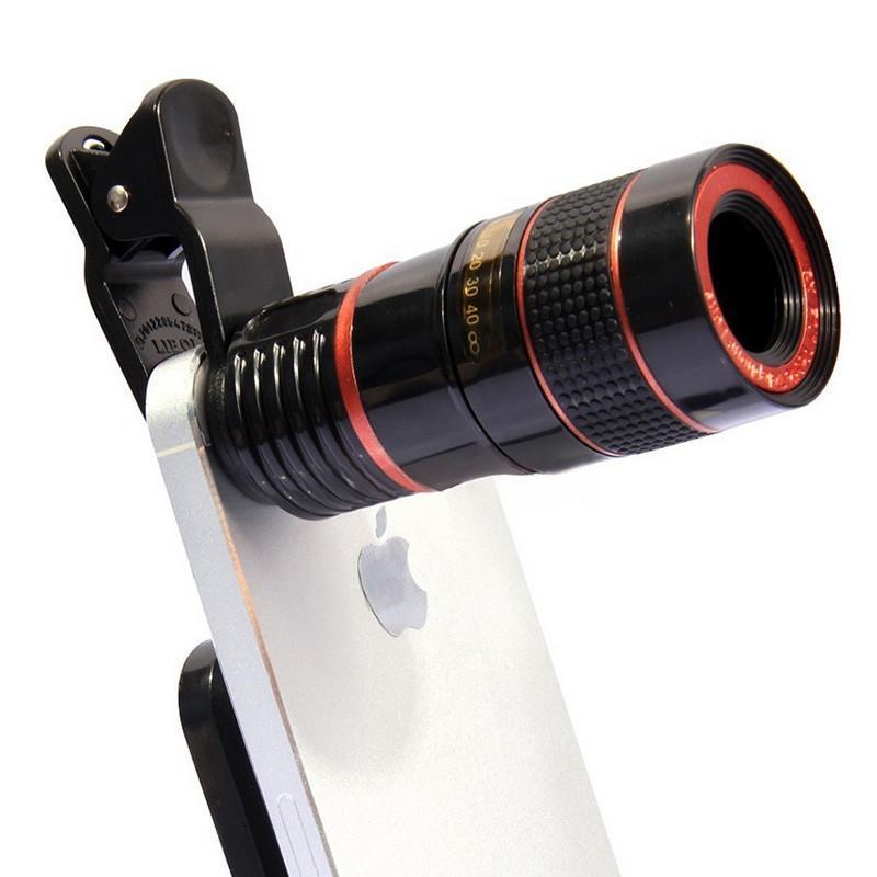 Obiektyw Luneta Do Telefonu 8x Zoom Optyczny