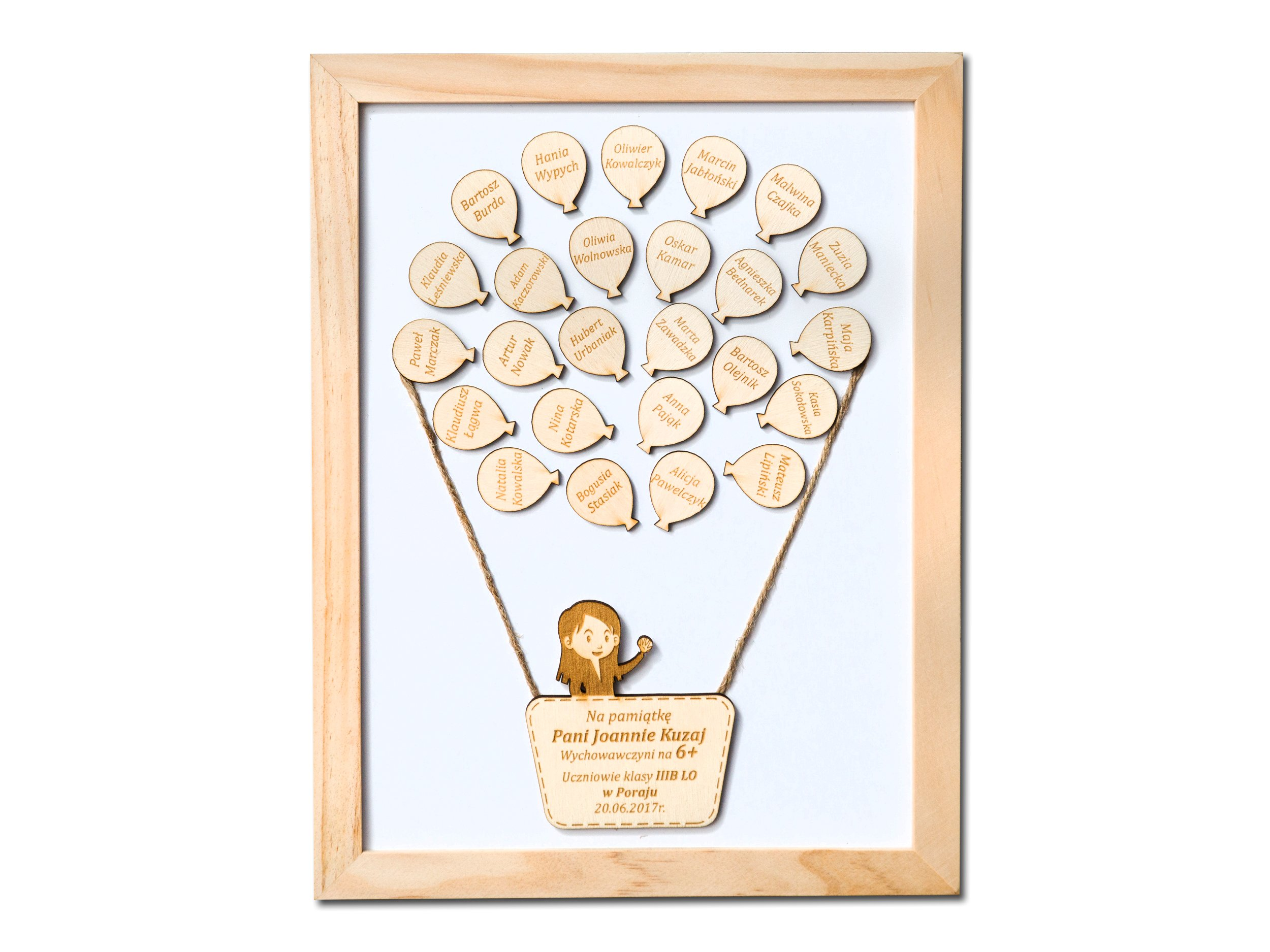 Item Your engraver GIFT FOR the TEACHER frame