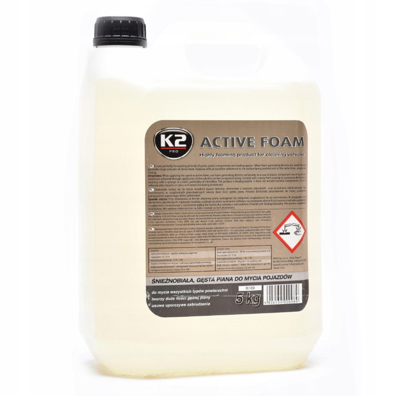 K2 ACTIVE FOAM - АКТИВНАЯ ПЕНА - 5 КГ