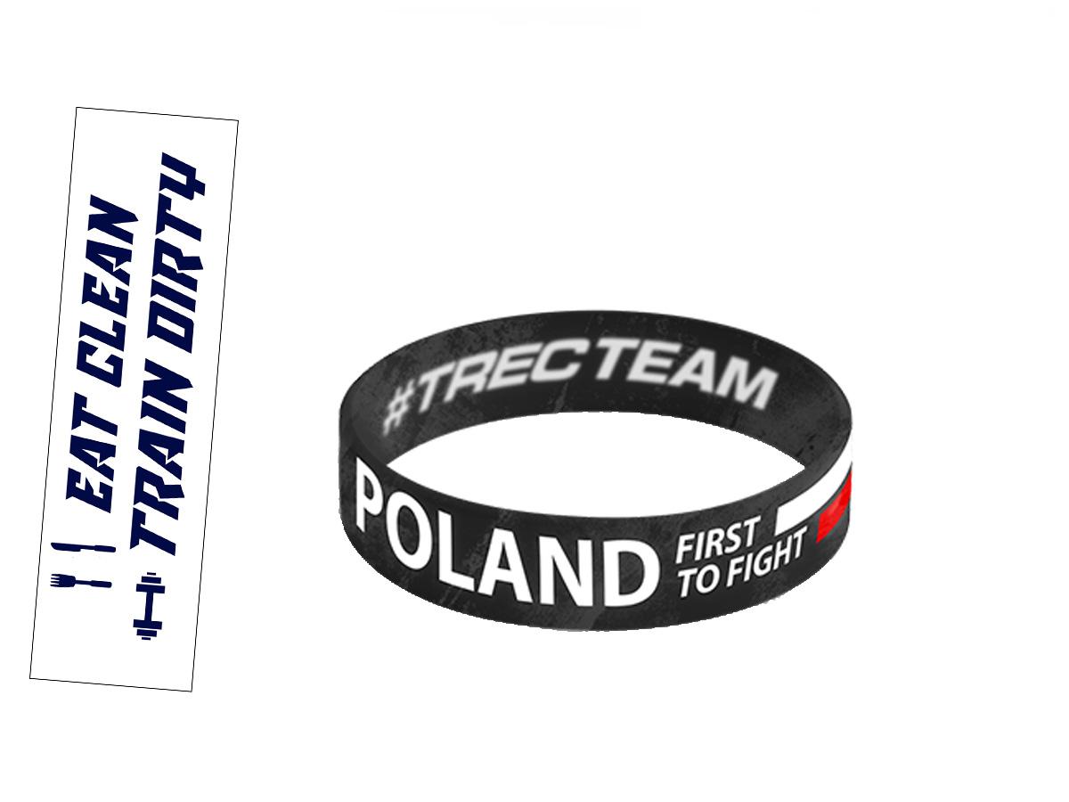 Купить TREC СИЛИКОНОВАЯ ПОВЯЗКА RUSSIA First 3MREKAWIC Бойцовский на Eurozakup - цены и фото - доставка из Польши и стран Европы в Украину.