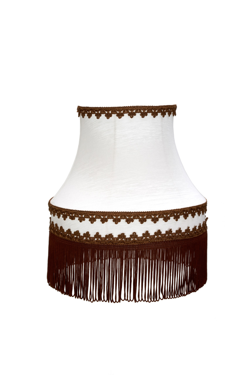 Tienidlo lampy Tieni Retro Súd Béžová/Svetlo Hnedá 14x23x1