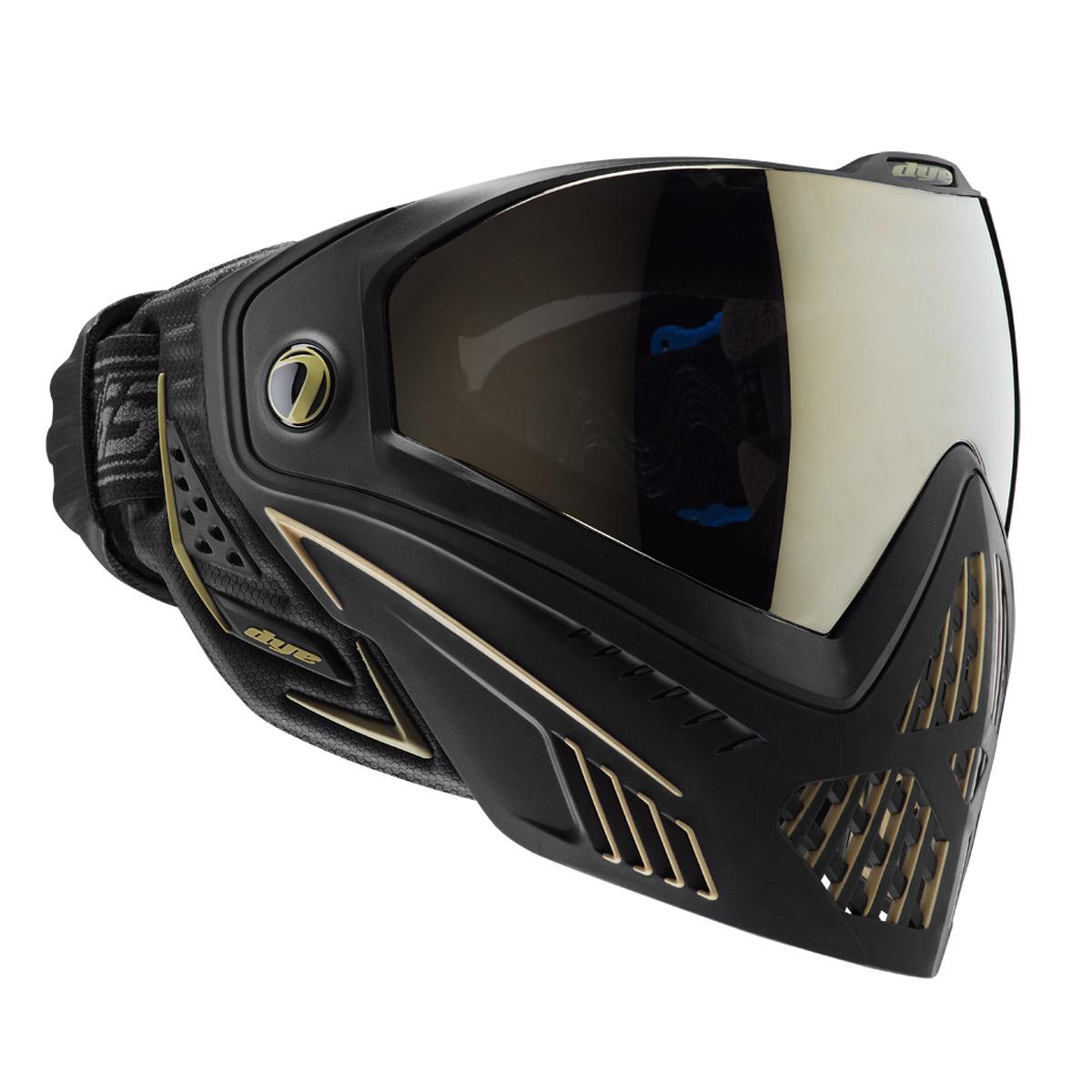 Farbivo i5 Onyx Zlatá maska pre paintball ASG